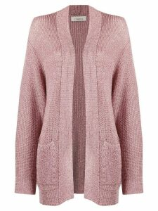 Laneus metallic knit cardigan - PINK