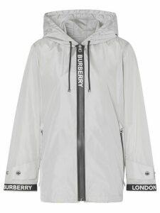 Burberry ECONYL® tape jacket - Grey