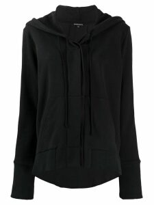 Ann Demeulemeester Grimm zipped hoodie - Black