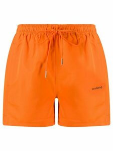 Soulland Olivia swim shorts - ORANGE