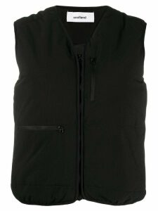 Soulland Bell padded gilet - Black