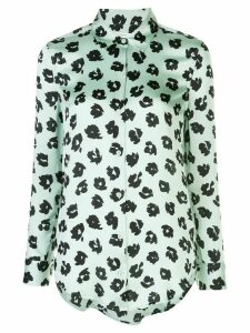 Equipment abstract print shirt - Green