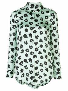 Equipment abstract print shirt - Green