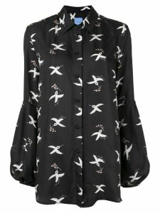 Macgraw St. Clair Bird Print blouse - Black