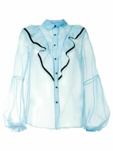 Macgraw Love Bird blouse - Blue
