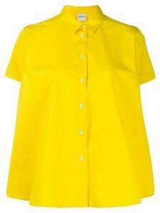 Aspesi short-sleeved cotton shirt - Yellow