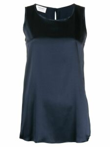 Snobby Sheep crew neck sleeveless top - Blue