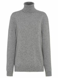 Prada cashmere roll neck jumper - Grey