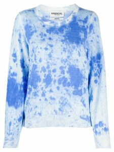 Essentiel Antwerp Verneuil tie-dye jumper - Blue