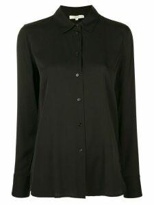 Vince stretch silk shirt - Black