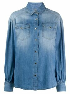 Pinko two pocket denim shirt - Blue
