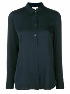 Vince stretch silk shirt - Black