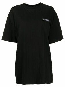 Han Kjøbenhavn logo detail T-shirt - Black