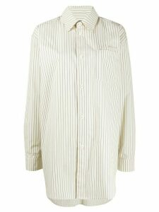 Han Kjøbenhavn oversized striped shirt - NEUTRALS