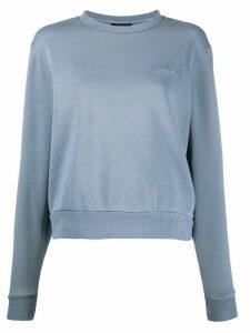 Han Kjøbenhavn jersey sweatshirt - Blue