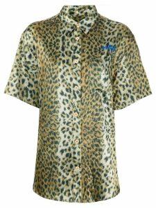 Han Kjøbenhavn leopard print shirt - Yellow