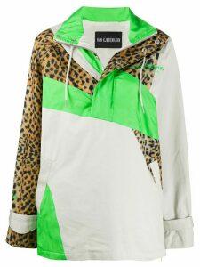 Han Kjøbenhavn patchwork pullover jacket - NEUTRALS