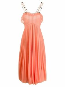 Christopher Kane dome pleated dress - PINK