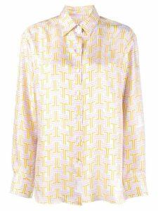 LANVIN graphic print shirt - NEUTRALS