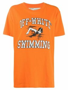 Off-White Swimming T-shirt - ORANGE