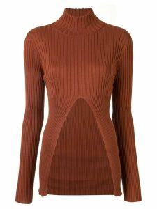 Sir. Astrid split jumper - Brown