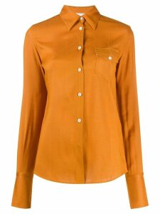 Peter Do fitted shirt - ORANGE