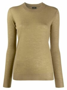 Joseph long sleeve jumper - Green