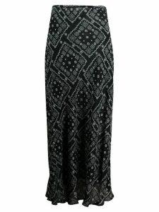Rixo Kelly maxi skirt - Black