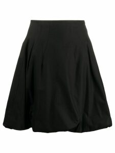 Khaite flared skirt - Black