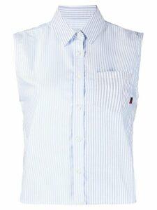 Woolrich striped oxford shirt - Blue