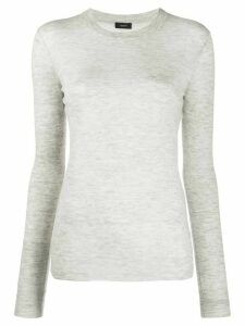 Joseph long sleeve jumper - Grey