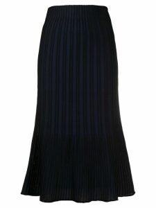 M Missoni ribbed-knit midi skirt - Blue