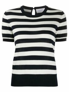 Snobby Sheep Audrey striped knit top - Blue