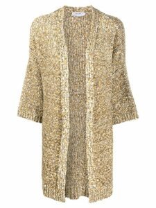 Snobby Sheep chunky knit oversized cardigan - NEUTRALS