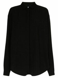 Totême Lago oversized shirt - Black