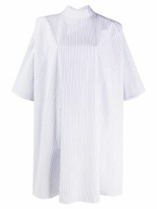 Givenchy oversized striped shirt - White