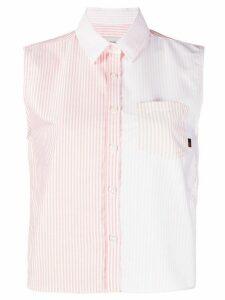 Woolrich striped oxford shirt - PINK