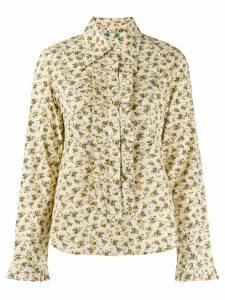Zadig & Voltaire Trissy floral-print shirt - NEUTRALS
