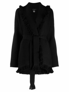 Alanui embellished calm tree cardigan - Black