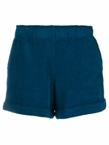 Majestic Filatures elasticated waist shorts - Blue