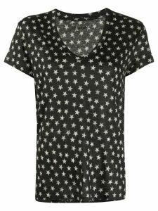 Zadig & Voltaire Archie Nova Stars v-neck T-shirt - Black