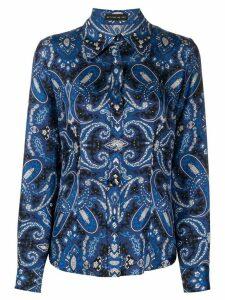 Etro paisley print shirt - Blue