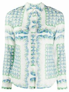 Tory Burch mixed floral print blouse - White