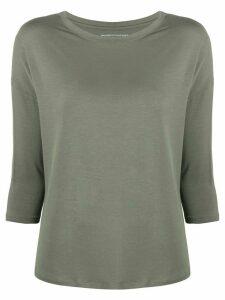 Majestic Filatures 3/4 sleeve top - Green
