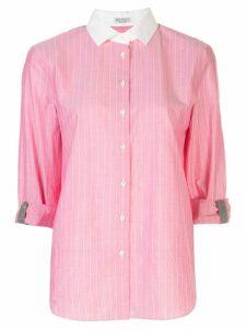 Brunello Cucinelli tab sleeve shirt - PINK