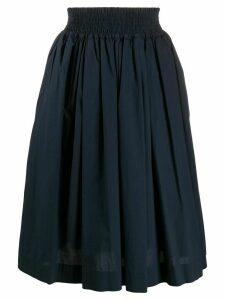Woolrich gathered hem skirt - Blue