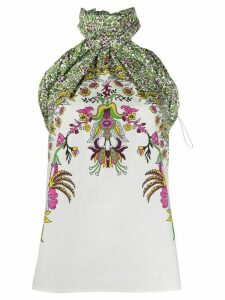 Givenchy floral print top - White