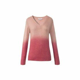 Gerard Darel Wool-blend Tie-dye Silver Sweater
