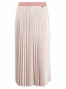 Twin-Set pleated midi skirt - PINK