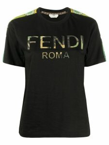 Fendi logo T-shirt - Black